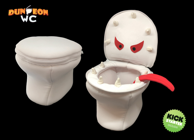 Dungeon WC: promo peluche
