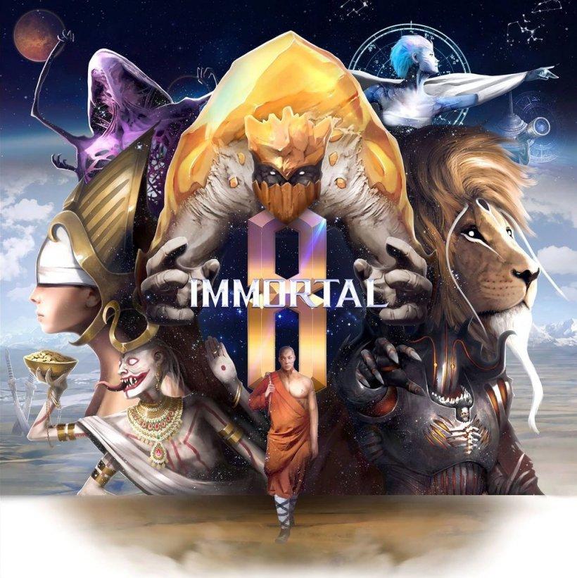 Immortal 8 copertina