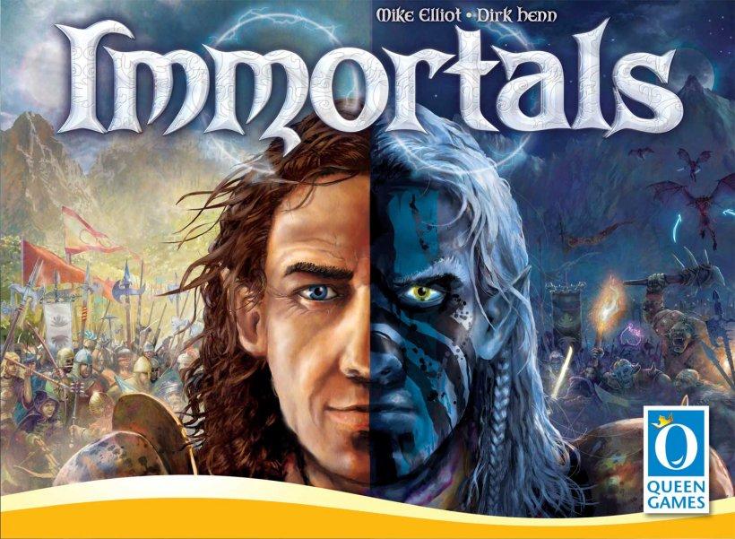 Immortals: copertina