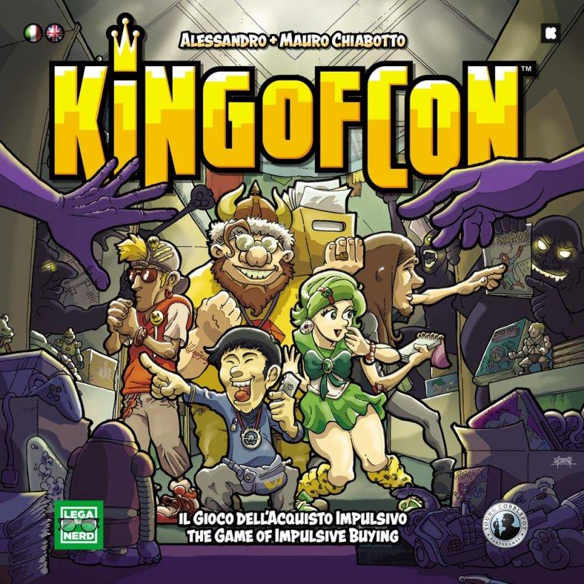 Copertina King of Con