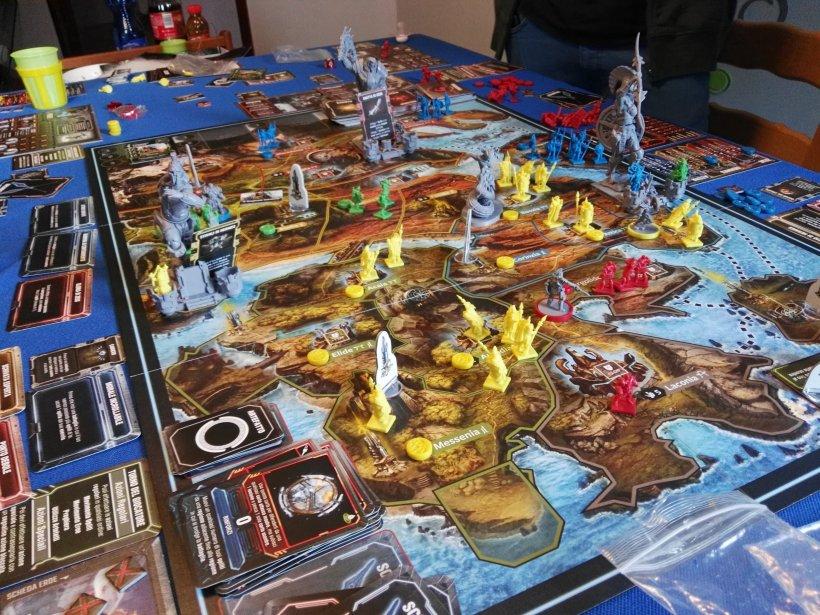 Lords of Hellas: partita