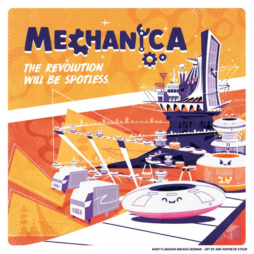 Mechanica: copertina