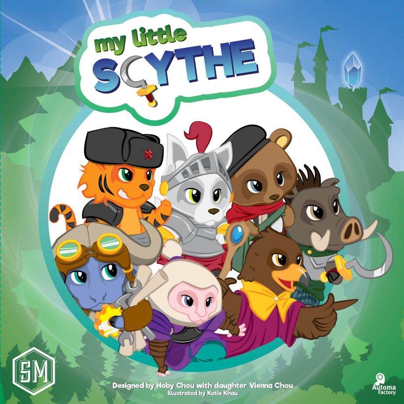 My Little Scythe: copertina