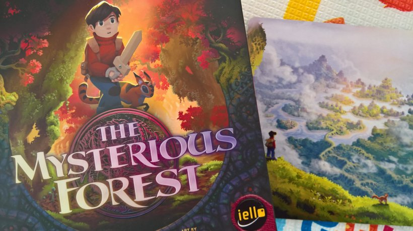 The Mysterious Forest: scatola