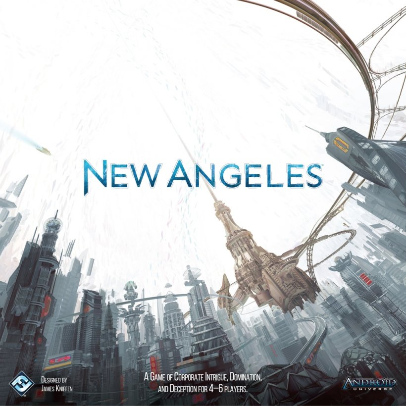 New Angeles: copertina