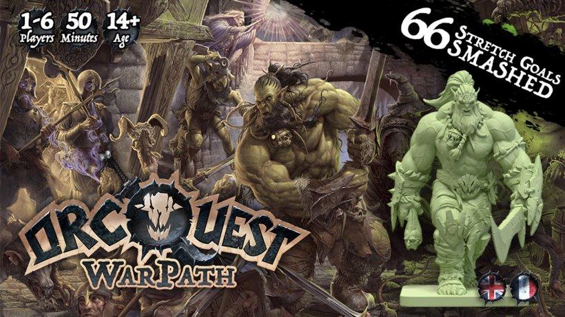 OrcQuest WarPath: Kickstarter