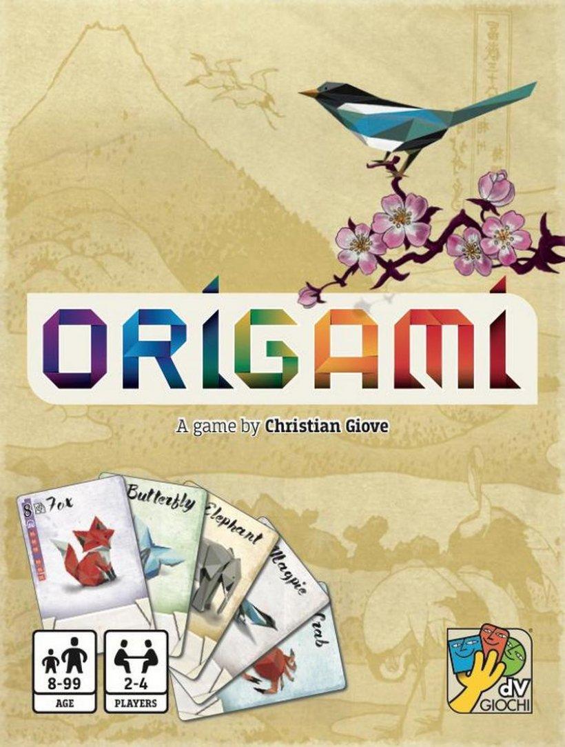 origami copertina