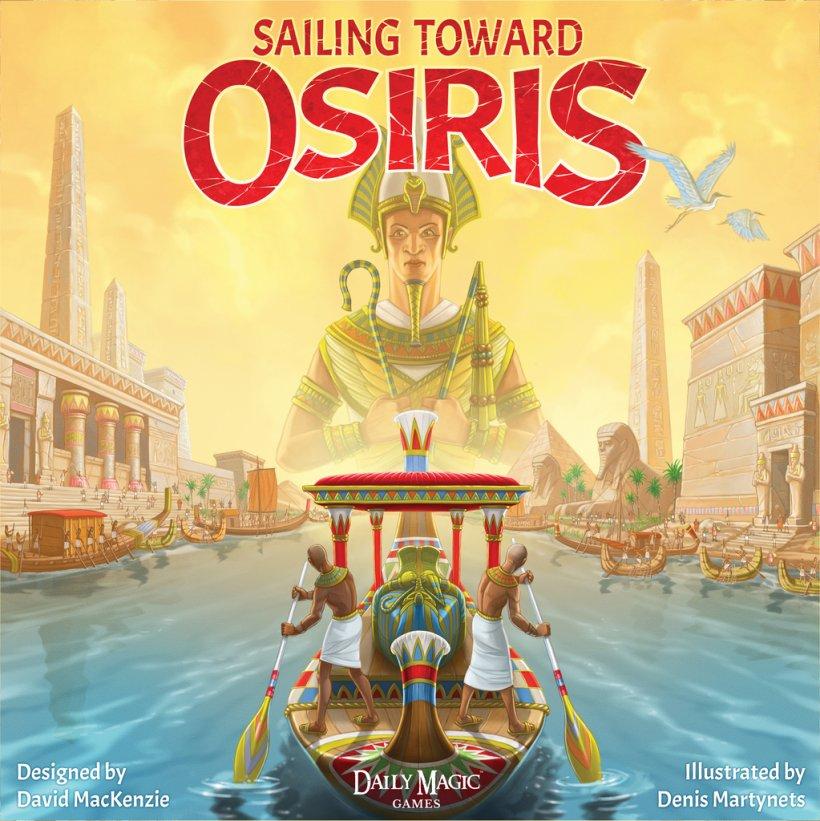Sailing Toward Osiris: copertina