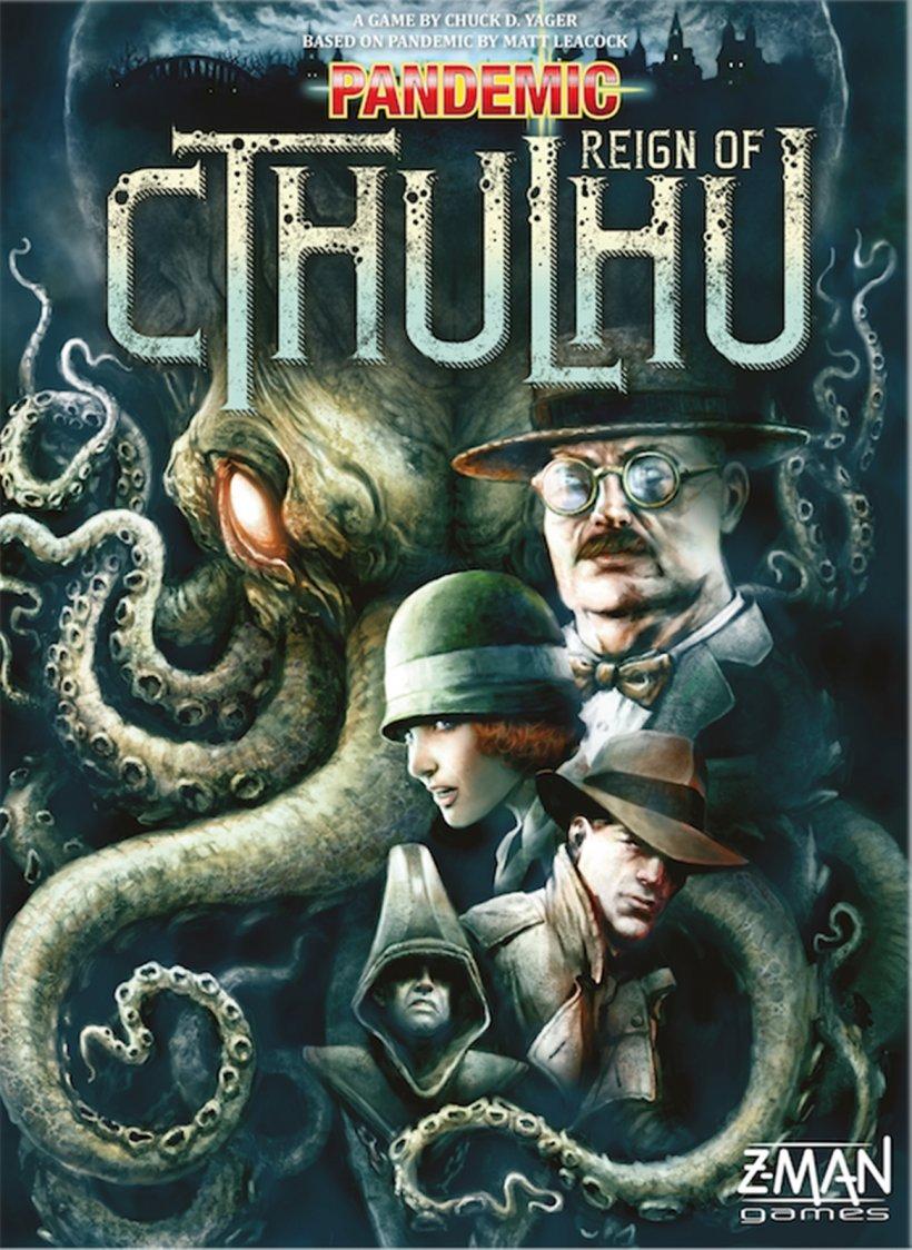 Pandemic Cthulhu: copertina