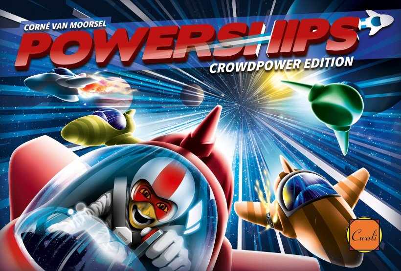 Powerships: copertina