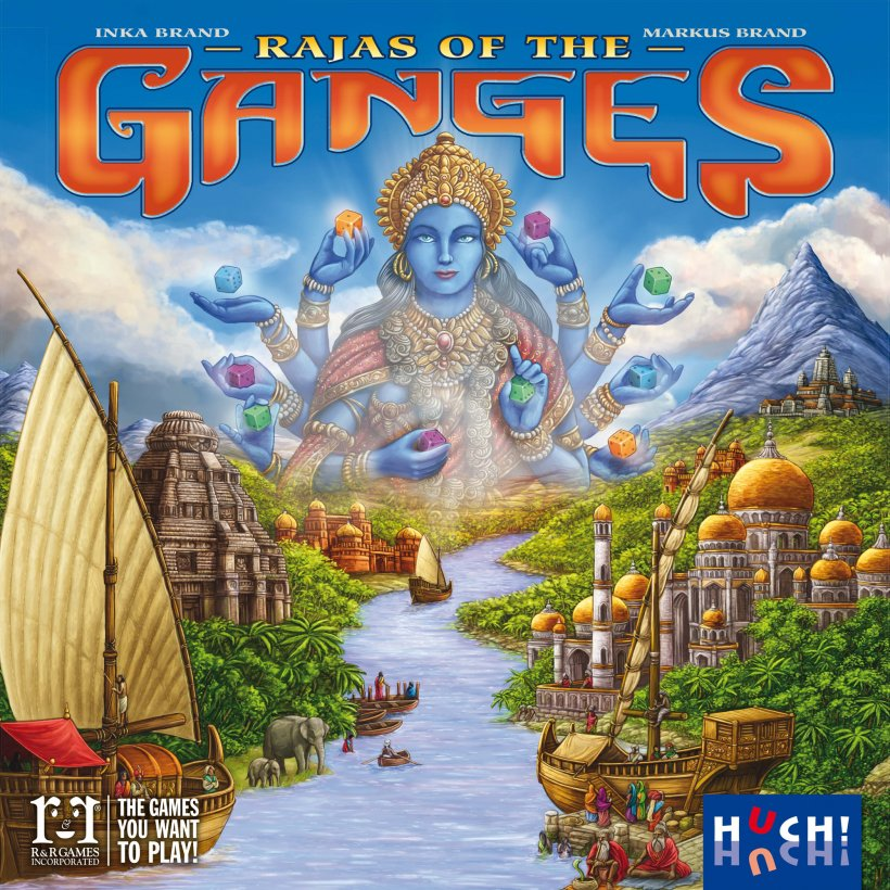 Rajas Of The Ganges copertina