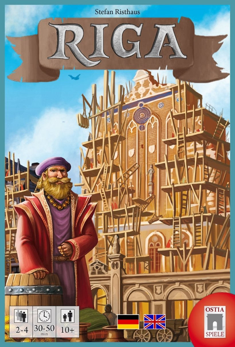 Riga: copertina