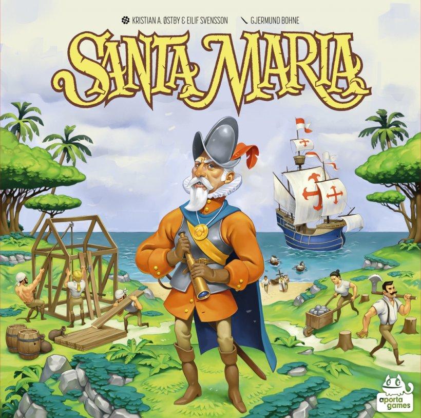 Santa Maria: copertina