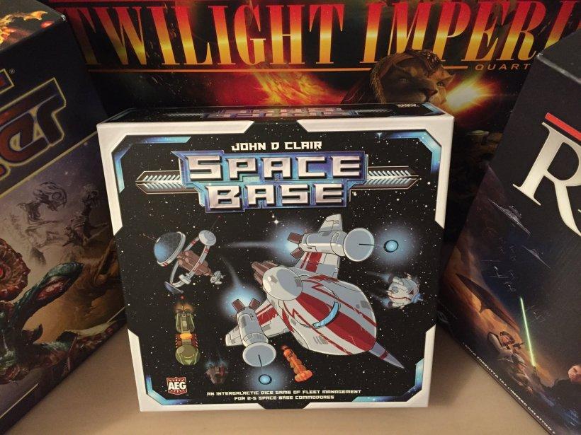 Space Base scatola