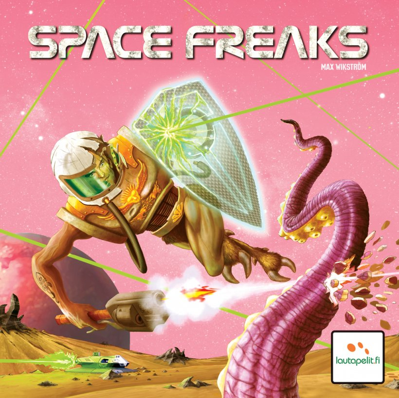 Space Freaks: copertina