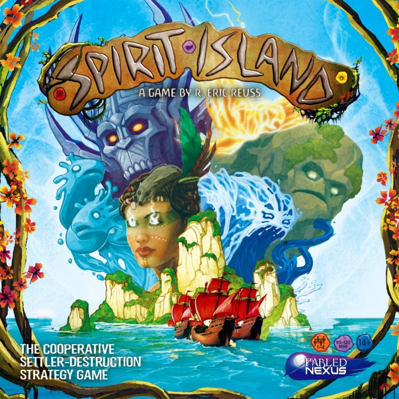Spirit Island: copertina
