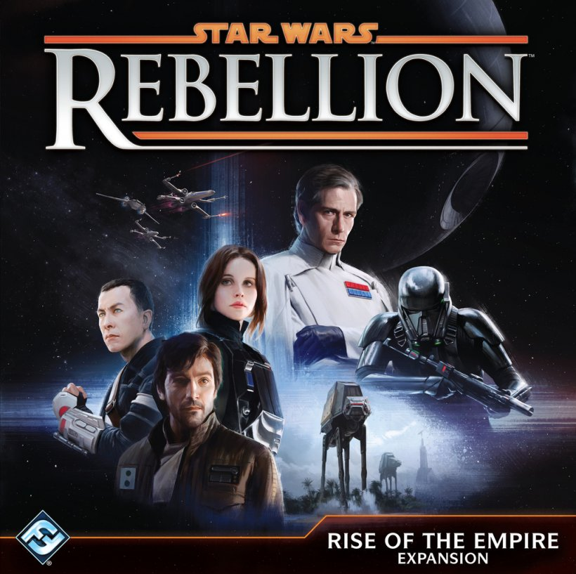 Nuovo Italiano Star Wars: Rebellion Fantasy Flight Gioco da Tavolo