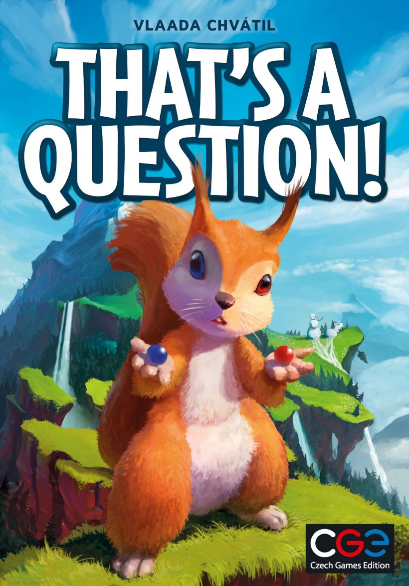 That's a Question! copertina