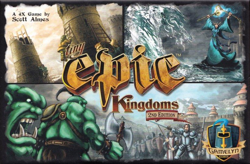 Tiny Epic Kingdoms: copertina