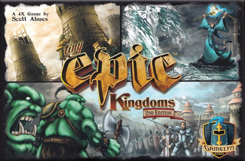 Tiny Epic Kingdoms: copertina
