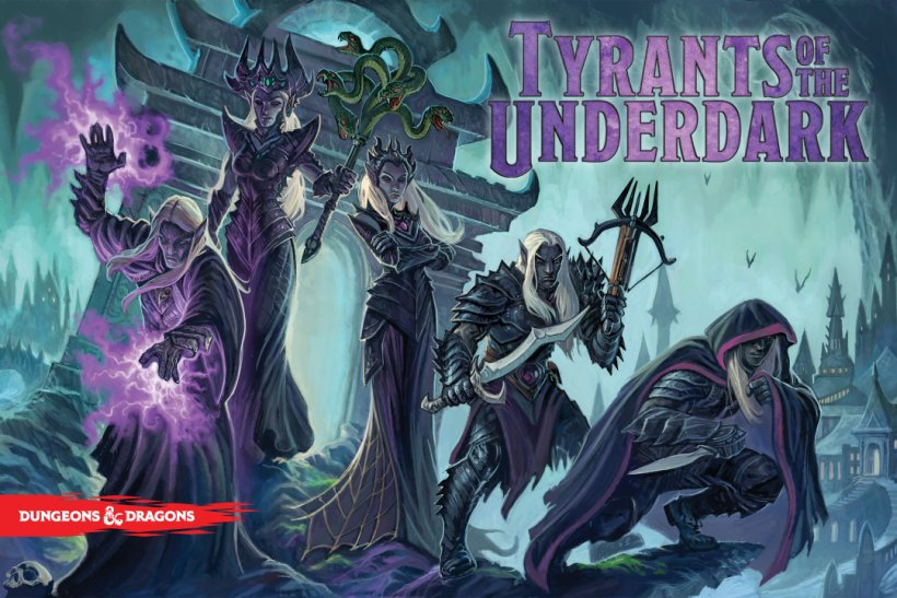Tyrants of the Underdark: copertina