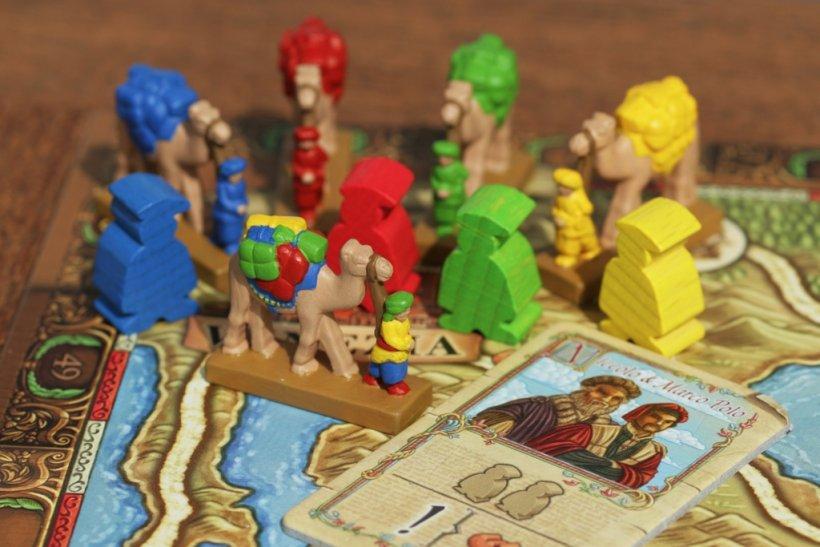 Cammelli dipinti per I Viaggi di Marco Polo