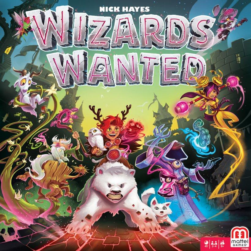 Wizards Wanted: copertina