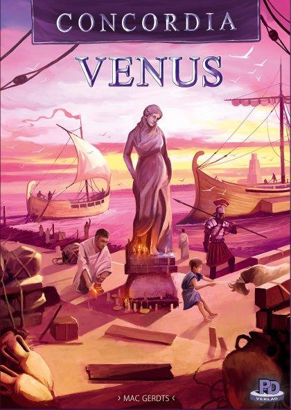 Concordia Venus: copertina
