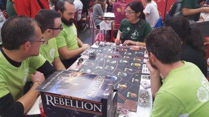 Star Wars Rebellion: tavolo al Magnifico 2017