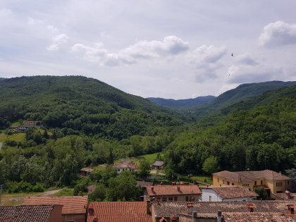 panorama dell'Oltrepo pavese