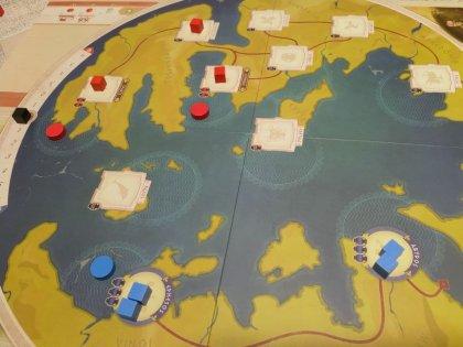300: Terra & Acqua - Schieramento iniziale