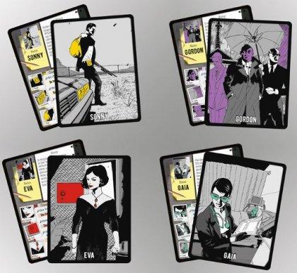 Carte personaggio di 3 segreti
