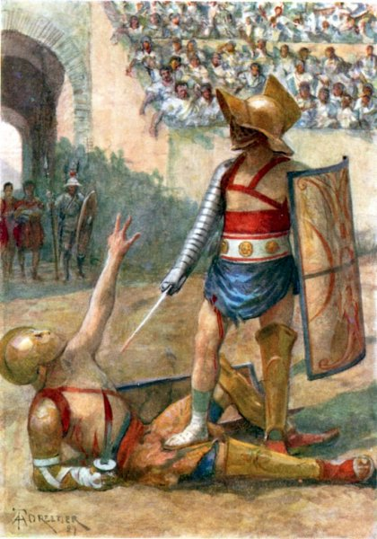 Forestier: Gladiators. The end of the combat
