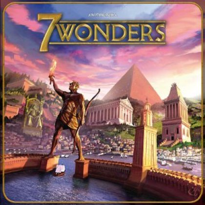 Copertina di 7 Wonders
