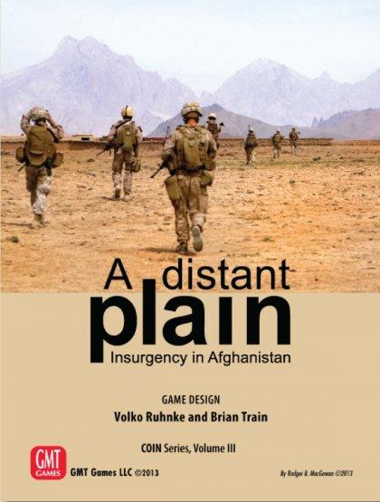 A Distant Plain: copertina