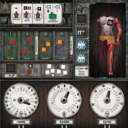 Abomination: The Heir of Frankenstein Plancia