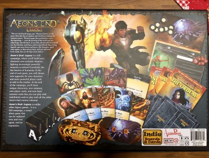 Aeon's End Legacy: materiali