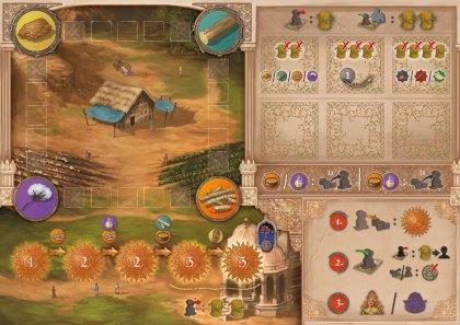 Agra: plancia giocatore