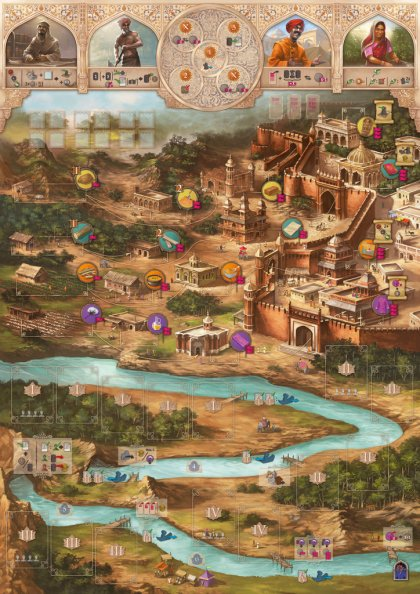Agra: tabellone