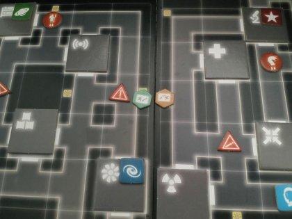 Alone: schema del labirinto