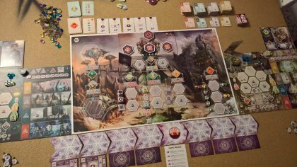 Anachrony: materiali di gioco