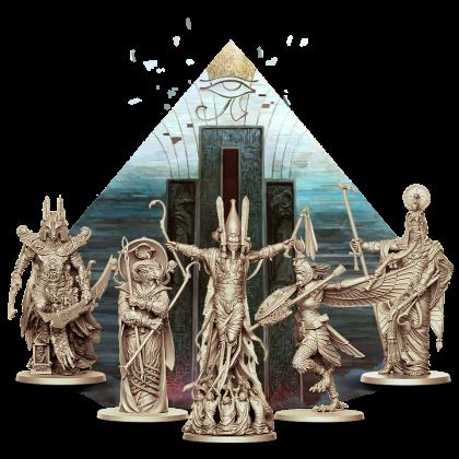 Ankh: Anubi, Ra, Amun, Iside, Osiride