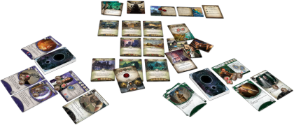 Arkham Horror LCG: materiali