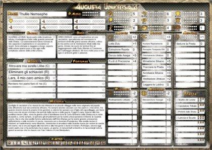 Augusta Universalis scheda