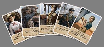 Auztralia: carte personaggio