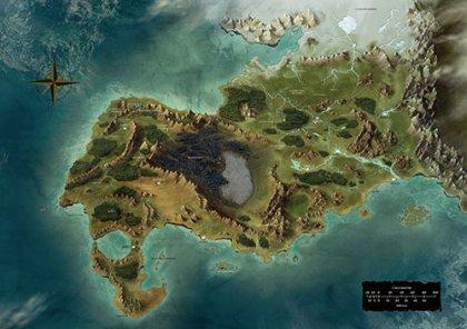 Awaken - Mappa del regno