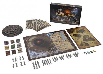 Barbarians: panoramica materiali