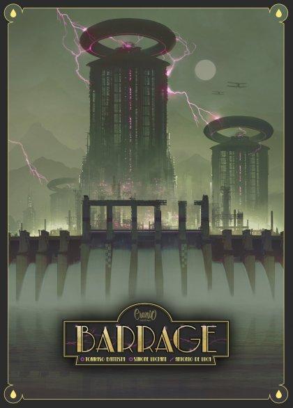 Barrage: copertina
