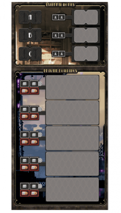 Barrage TLP - La plancia addizionale