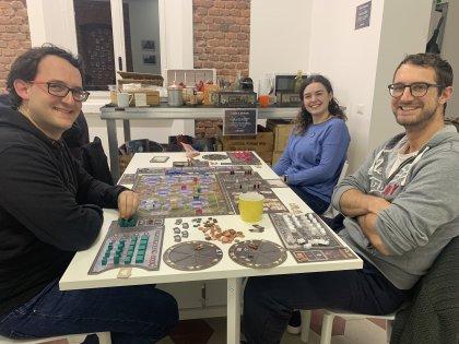 Barrage - Partita in tre